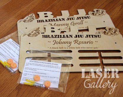 Brazilian Jiu Jitsu Medal hanger