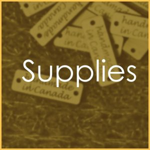 Tags, blanks and other supplies for makers