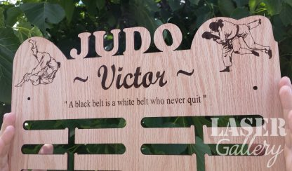 Judo Medal Hanger