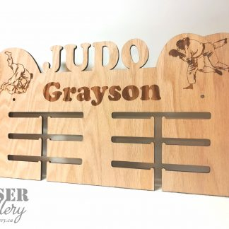 Judo Medal Display