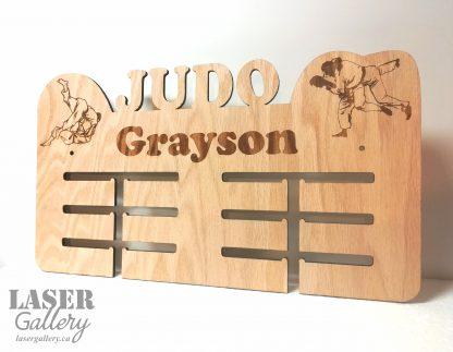 Judo Medal Display