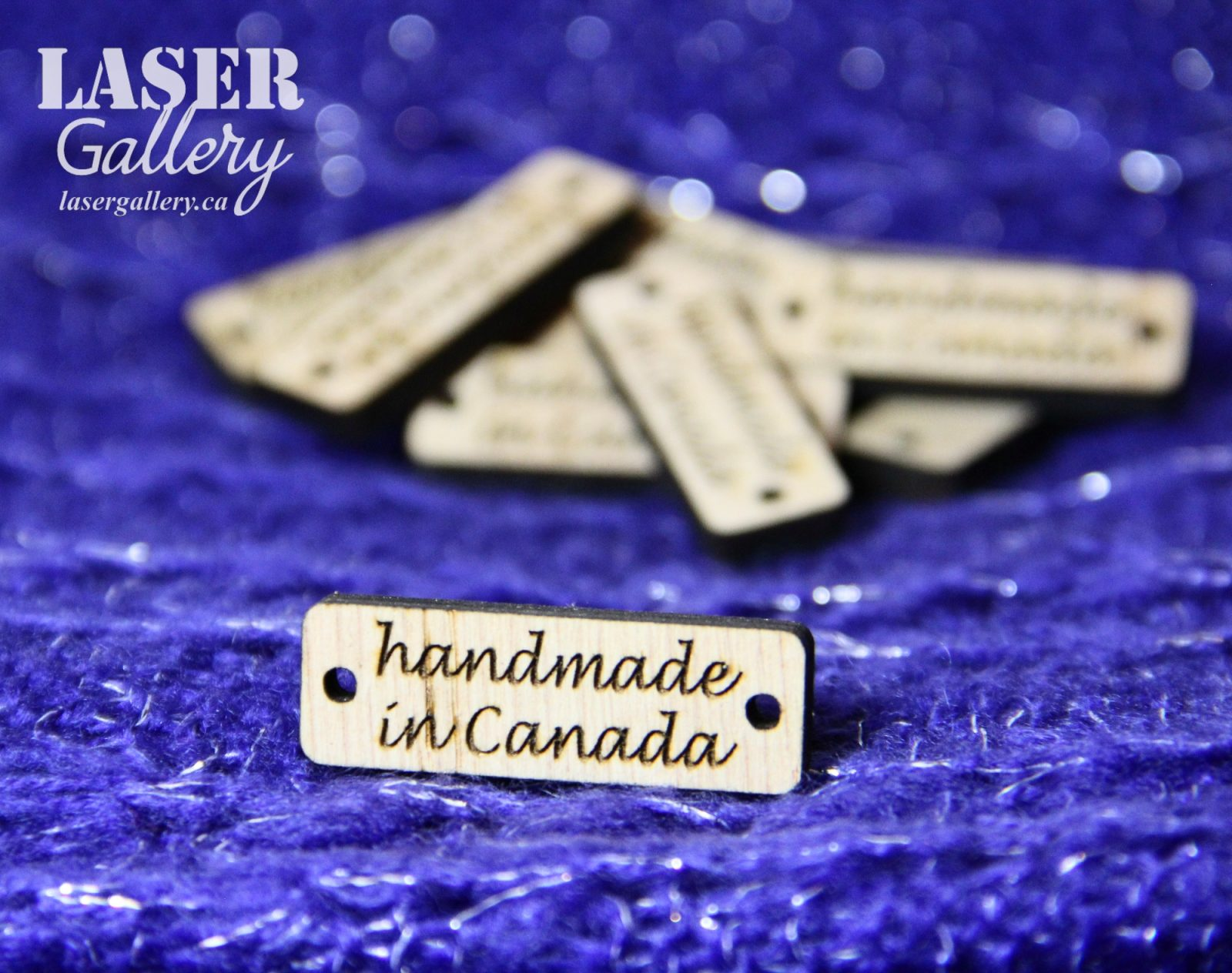Handmade Labels Wooden Tags Laser Gallery