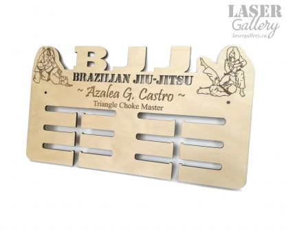 Brazilian Jiu-Jitsu Medal Display for Women