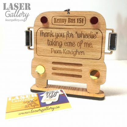 Personalized School Bus Driver Appreciation Gift