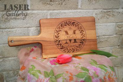Custom Engraved Cutting Board Acacia