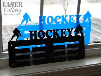 Hockey medal display hanger gift for hockey playe