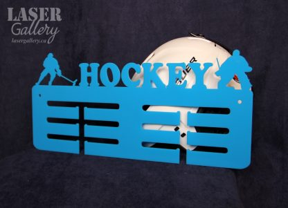 Hockey medal display hanger gift for hockey player